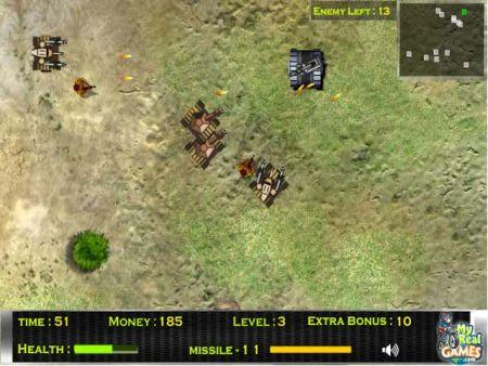 videojuegos de tanques