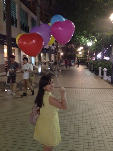 Singapore Lifestyle Blog, nadnut, love, valentine's day, vday, vday dinner, zenden restaurant, gallery hotel