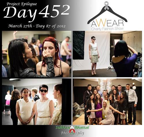 Day 452 - The 3rd Annual AWEAR Charity Fashion Show