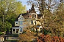Ross Island Bridge House