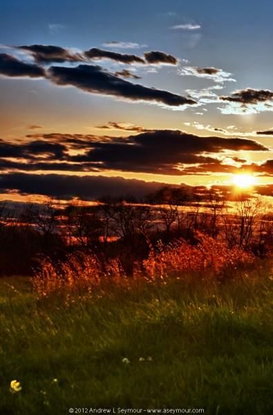 Day 10 - 120412 sunset Shamona Creek es hdr 03