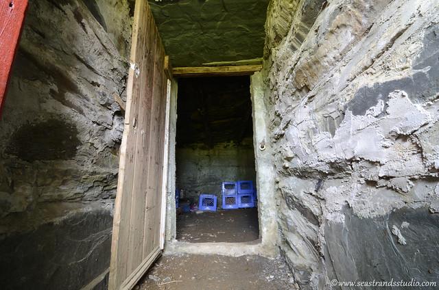 Root cellar corridor