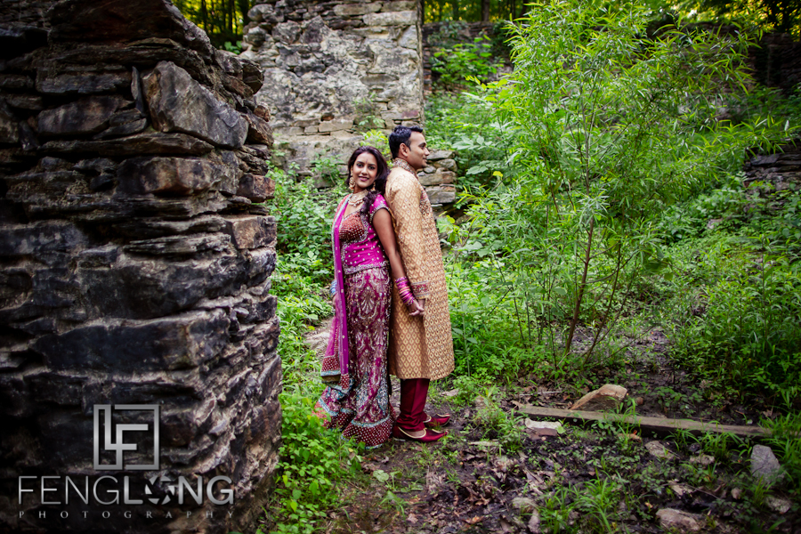 Suhana & Rajib's After Wedding Photo Session | Sope Creek Trail | Atlanta Indian Wedding Photographer