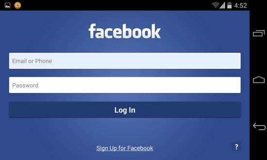 Candy Crush Saga: Tips how to change your facebook account using Android devices Step 2
