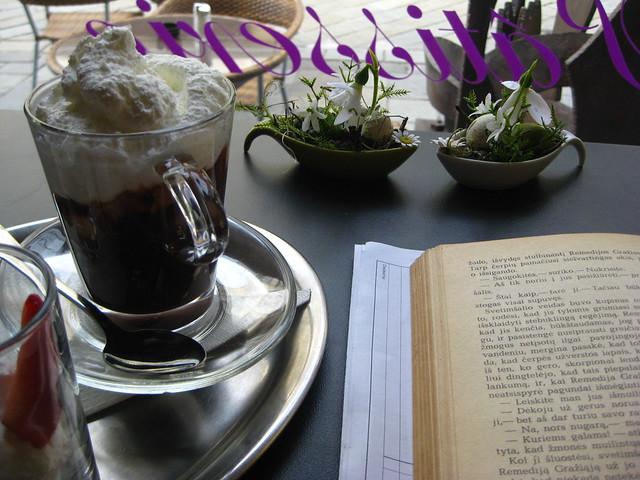 Hot chocolate in Bratislava