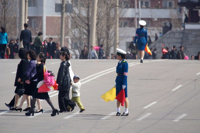 Pyongyang Traffic Girls