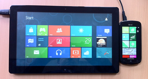 Windows 8 Start Screen Tiles and Windows Phone 8 Start Screen Tiles