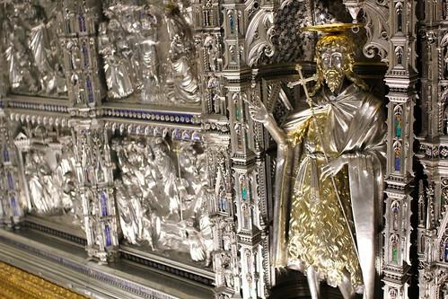 St John the Baptist. In Silver
