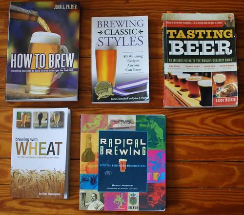 5 Favorite Homebrewing Books