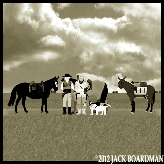 Boomer  cussed a blue-streak ©2012 Jack Boardman