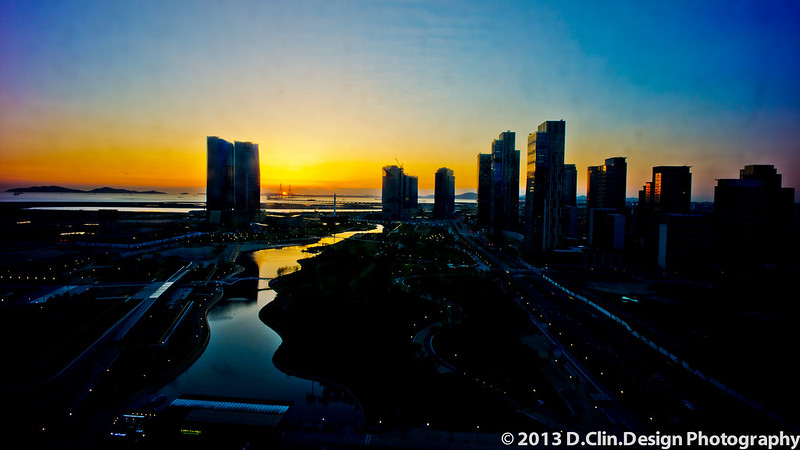 Songdo Sunset