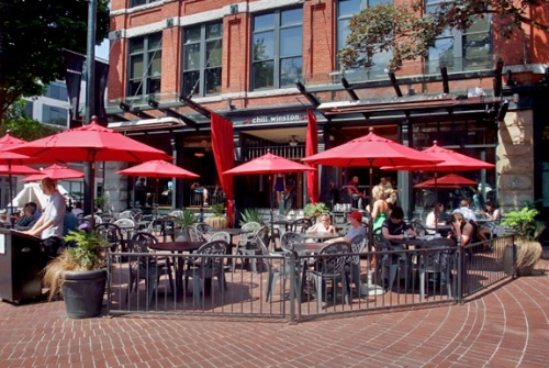 Chill Winston Patio Gastown