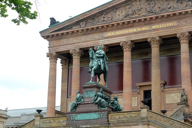 The Alte Nationalgalerie on Museumsinsel