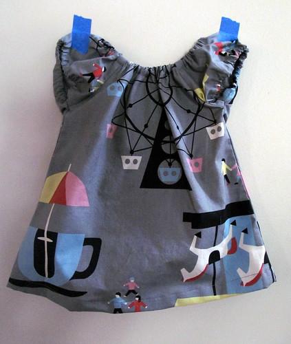 carousel baby dress