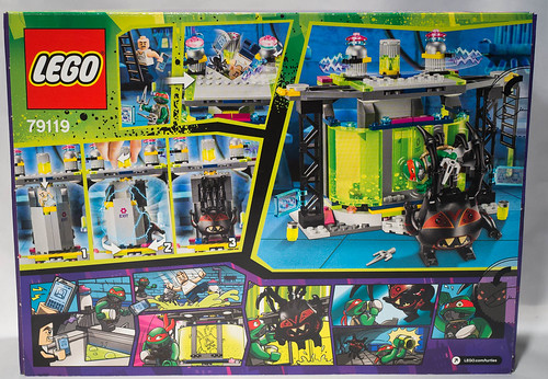 REVIEW LEGO 79119 TMNT - La chambre de mutation