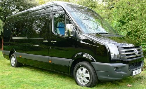 Luxury Splitter Vans for Hire- Driving You Crazy 2012