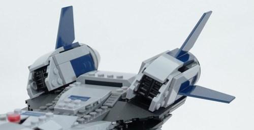 6869 Quinjet Thruster Detail