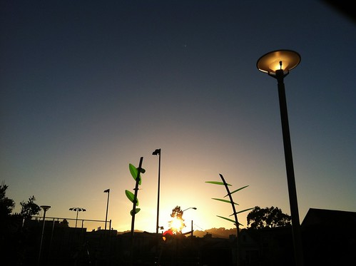 The Sun Sets on the Playground of the Future