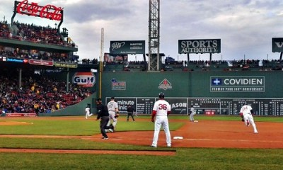 Photo: Red Sox - Ortiz Doubles