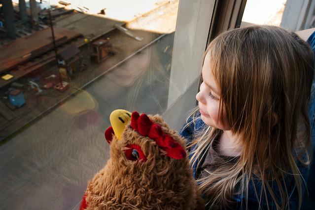 sadie and chickener tram 2