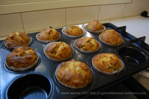 Savory Muffins (after the muffin monster)