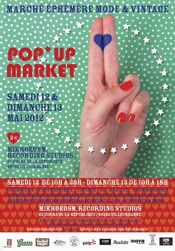 pop up market-FLYER