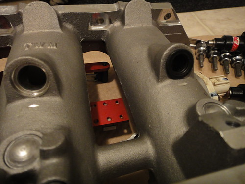 New intake manifold, TWM individual throttlebodies | 98luder's Weblog