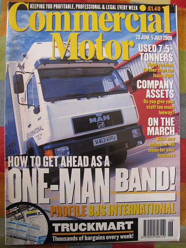 Commercial Motor MAN