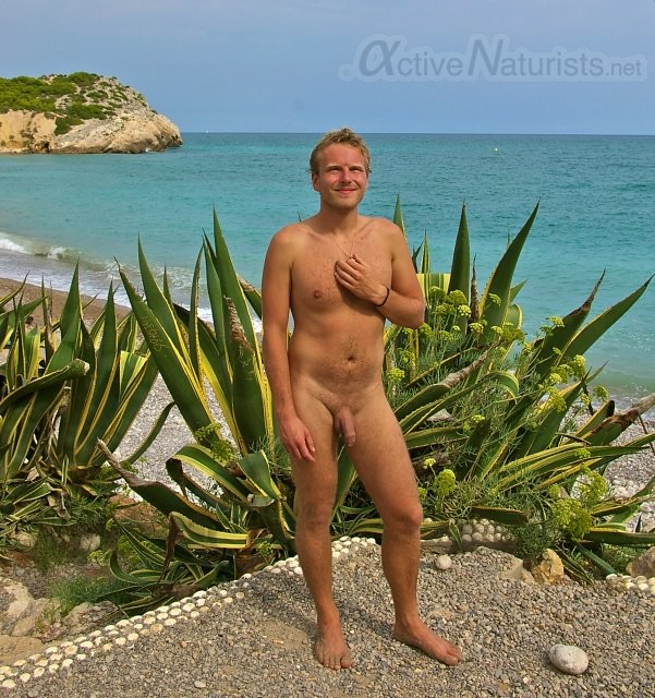 Nude Beach Sitges