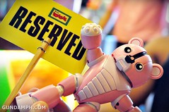 Pink Bearguy at Mang Inasal Laoag Centro