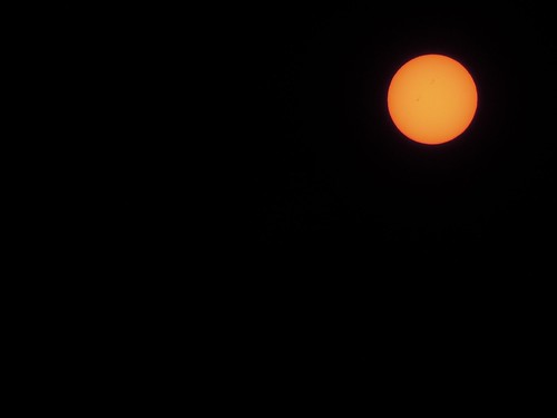 Sunspots Taken With Nikon Coolpix P300