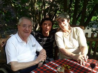 Tio Josu, moi et Mami