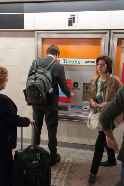 下火車第一件事是買 72 小時交通票