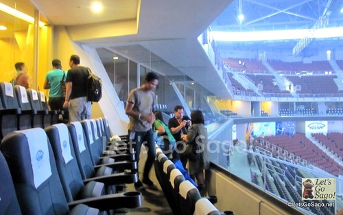 Viewing Seats from the Premium Rooms