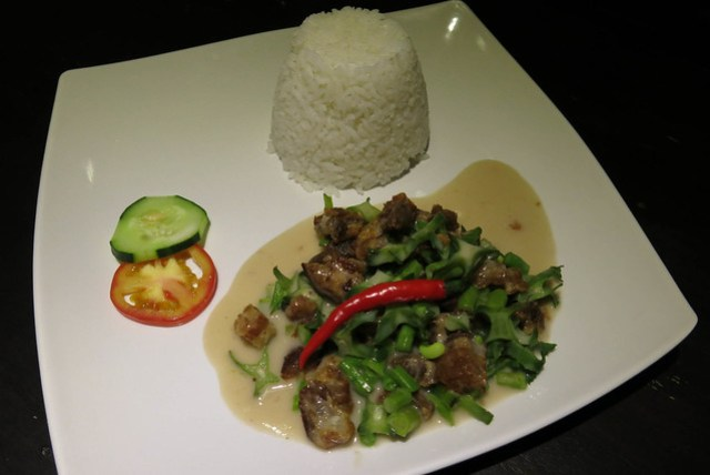 Bicol Express Meal at Silly Labuyo