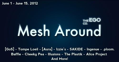 Mesh Around Logo