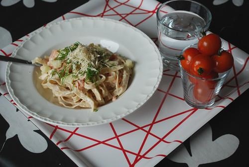 pasta salmon by abris2009