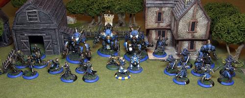 50pt Cygnar Army