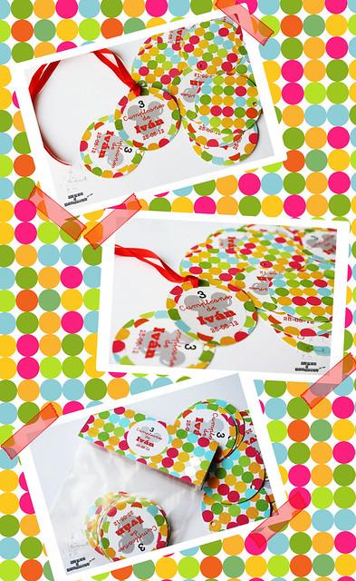 Collage etiquetas mickey