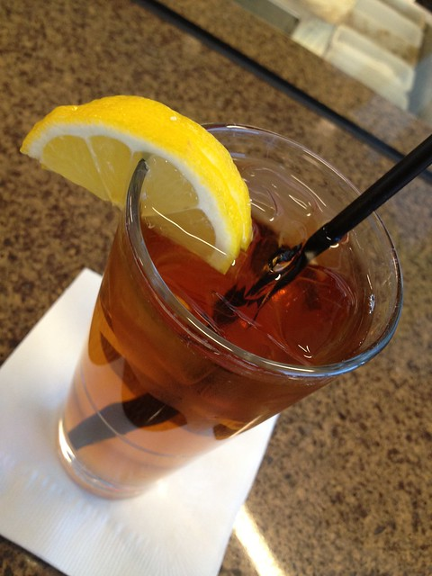 Iced tea - Cat Cora Kitchen