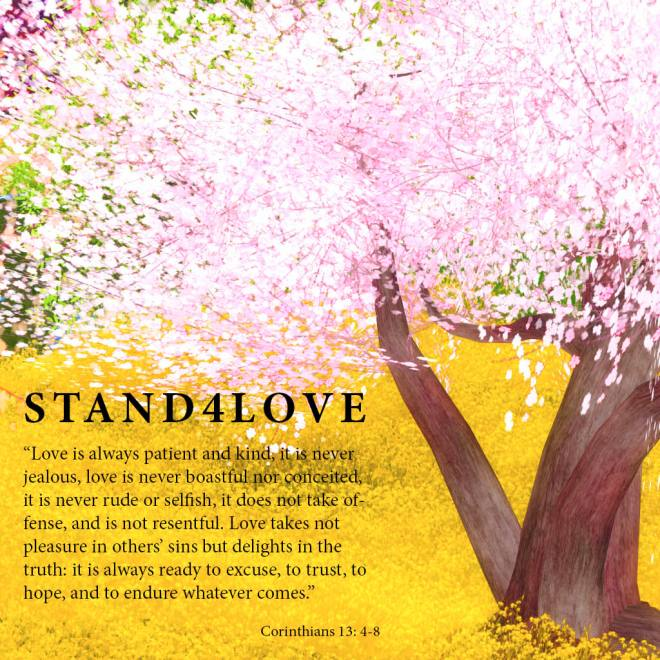 STAND4LOVE - Love is ...
