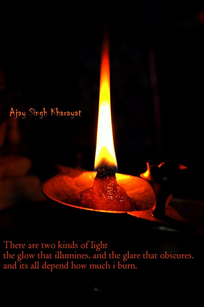 Flame At Flickr by Ajay Singh Kharayat