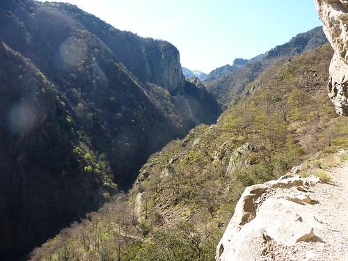 Géocaching gorges Carança Pyrénées
