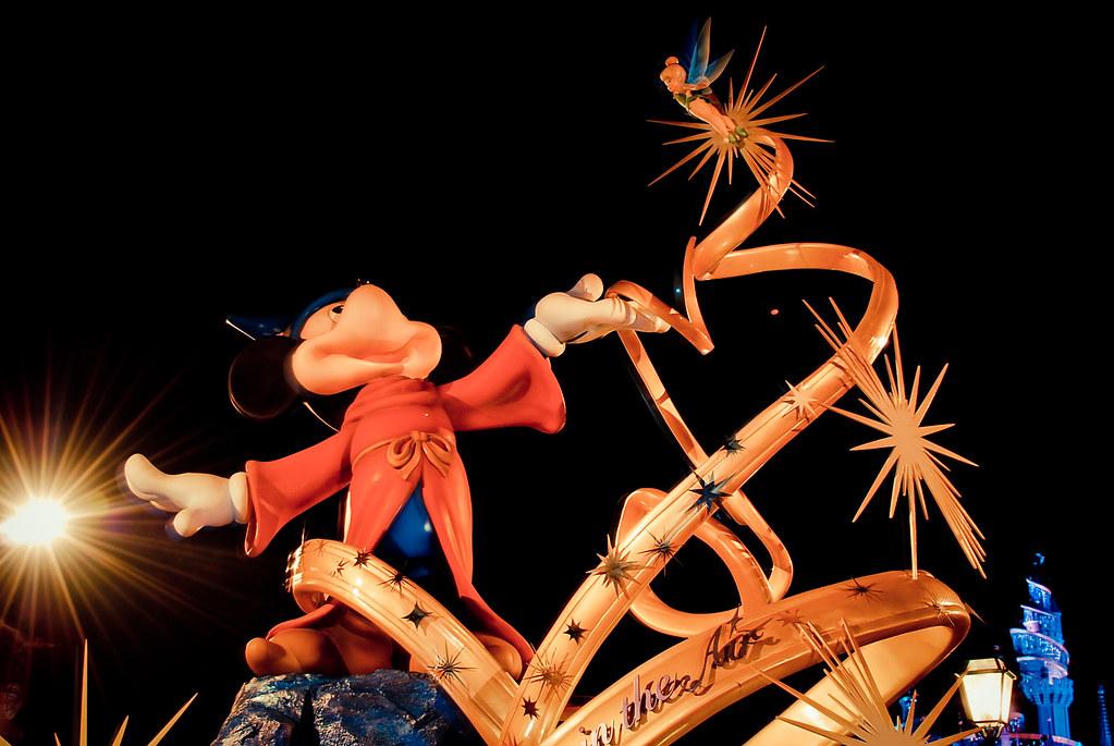 Hong Kong, Disneyland, Mickey Mouse