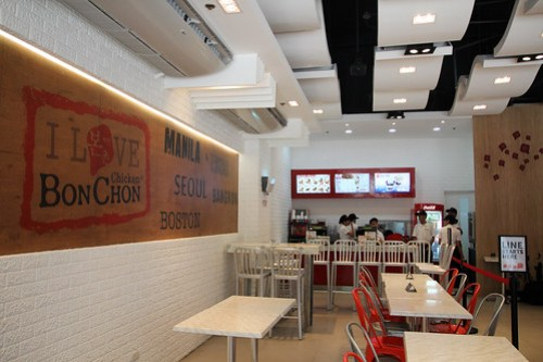 Inside BonChon Chicken, Bonifacio High Street