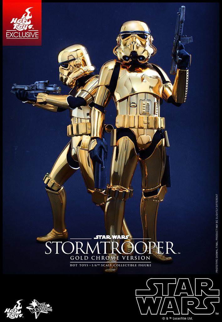 Hot Toys - MMS364 - 《星際大戰》1/6比例帝國風暴兵 (金色電鍍版) Stormtrooper (Gold Chrome Version) | 玩具人Toy People News