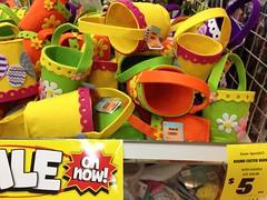 Easter Egg Baskets, Spotlight, Plaza Singapura