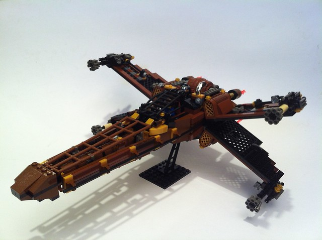 SteamPunk X-Wing by Steadibrick