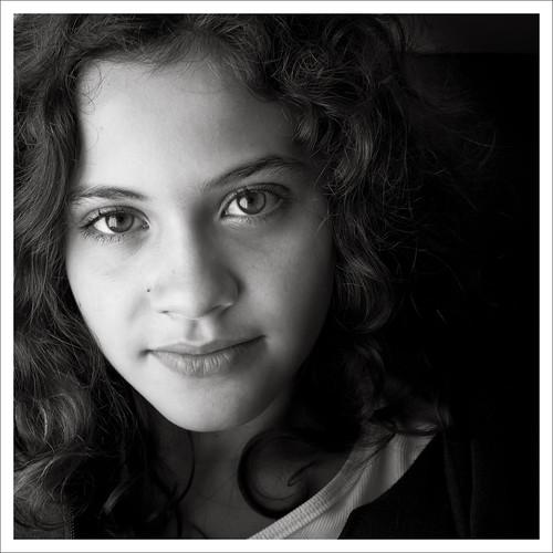 Portrait original by Luiz L.