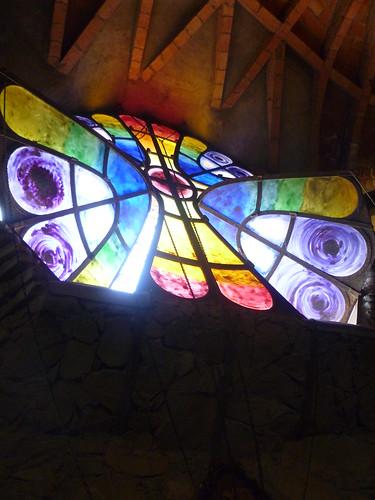 Finestra a Farfalla Cripta Guell, Barcellona